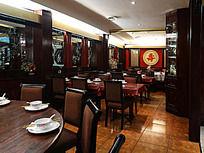 欧洲中国餐厅大厅装修