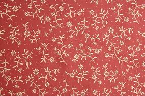 碎花 花纹 花边 花纹花卉 丝布 红色绸布