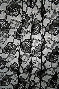 黑白灰玫瑰花   玫瑰花布纹