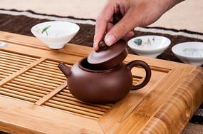 手工精制紫砂茶壶