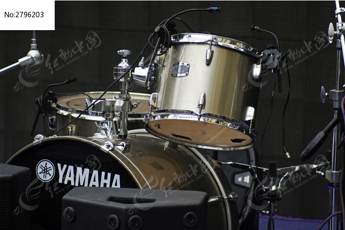打击乐器架子鼓图片
