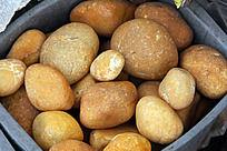 黄腊鹅卵石