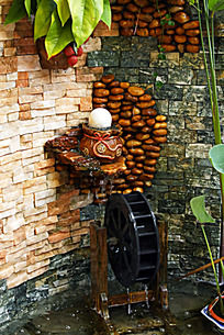 水池装饰墙