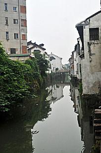 苏州木渎镇的小桥流水人家