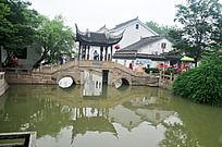 苏州木渎镇的西施桥