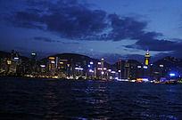 美丽的香港夜景