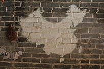 墙上的中国地图