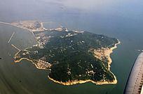 四面环水的香港岛