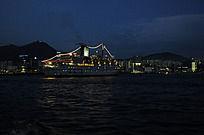 香港海湾夜景
