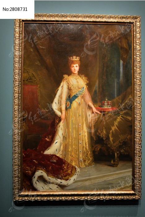 高贵的女王图片_艺术文化图片