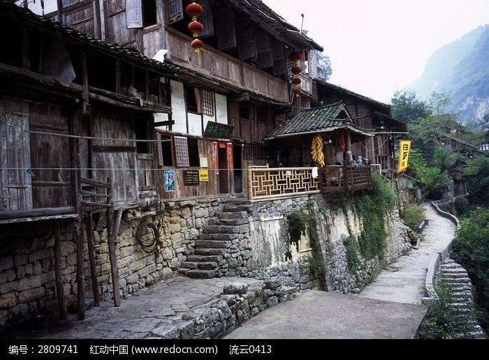 乌江龚滩古镇农家旅店图片