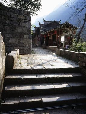 乌江龚滩古镇石桥