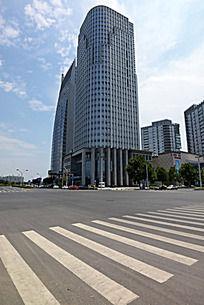 郑州高大的温哥华大厦