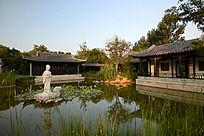 郑州绿博园的江南花园