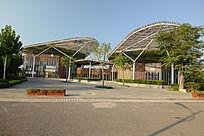 郑州绿博园的美食餐厅