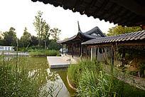 郑州绿博园的园林景观