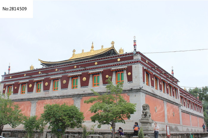 传统藏式建筑寺庙图片