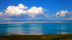 青海湖远景