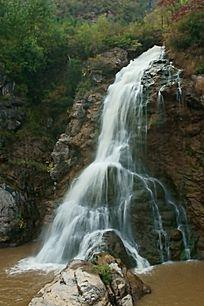 延庆乌龙峡瀑布