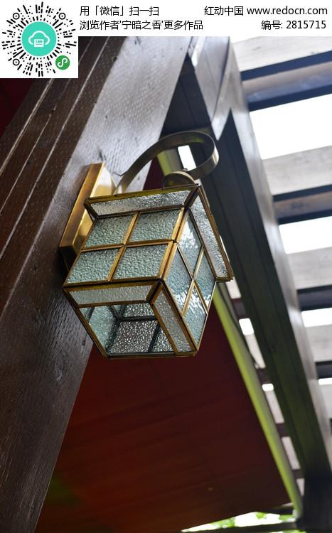 柱子上的灯高清图片下载 编号2815715 红动网