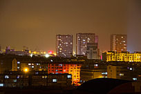 石岛小城夜景
