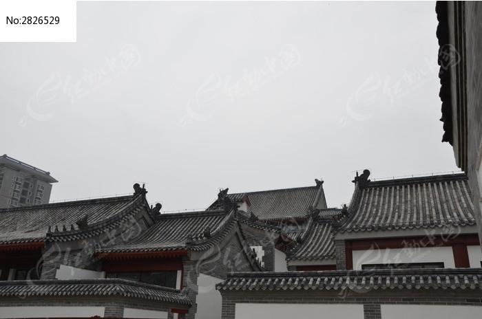 十笏园古建筑屋顶