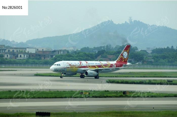 珠海飞机场的飞机图片