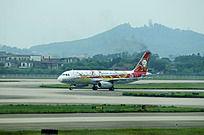 珠海飞机场的飞机