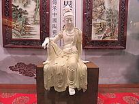 观音人物雕塑