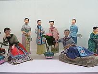 美女陶瓷雕塑