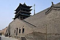 山西平遥古城的古城墙