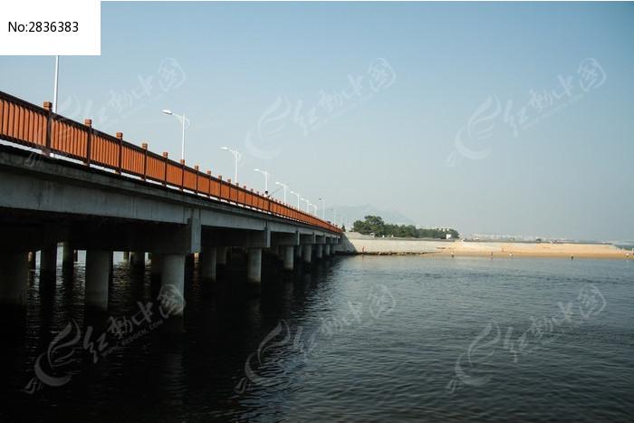 北流海桥图片_建筑摄影图片