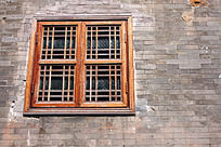 古老窗户装饰
