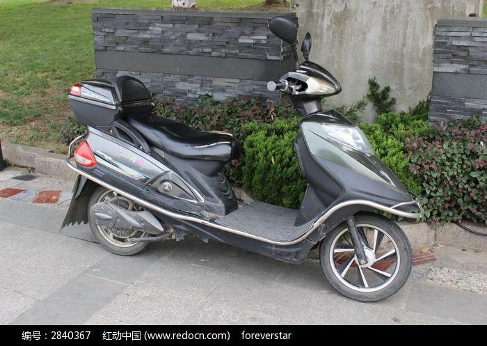 踏板电动车图片,高清大图