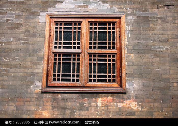 中式老窗户图片