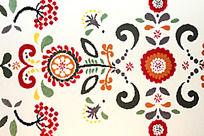 阿库拉民族风花纹