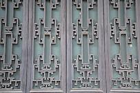 传统中国风窗户纹理