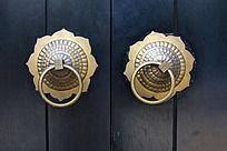 金属门扣装饰