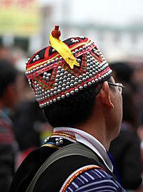 少数民族的男士帽子