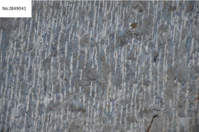 潍坊十笏园斑驳的墙壁纹理