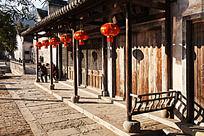 徽州呈坎的中式建筑