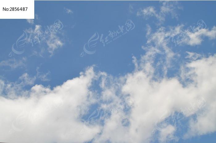 晴天白云圖片