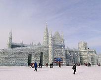 冰雕巴黎文化3D视频馆