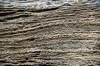 层叠的石头横断面