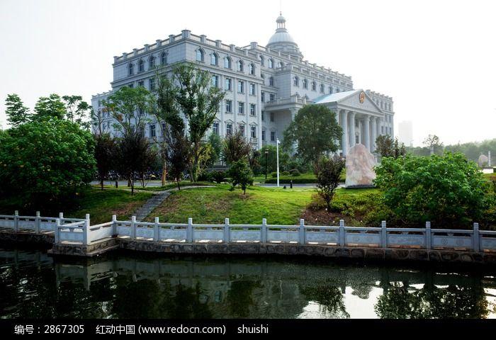 欧式建筑的风景图片