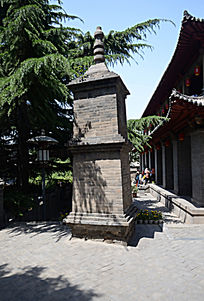 石窟寺石塔