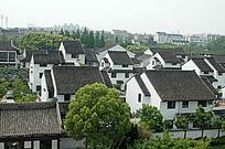 苏州盘门的住宅民楼