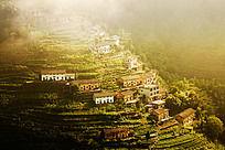 歙县蜈蚣岭生活在高山上的村落