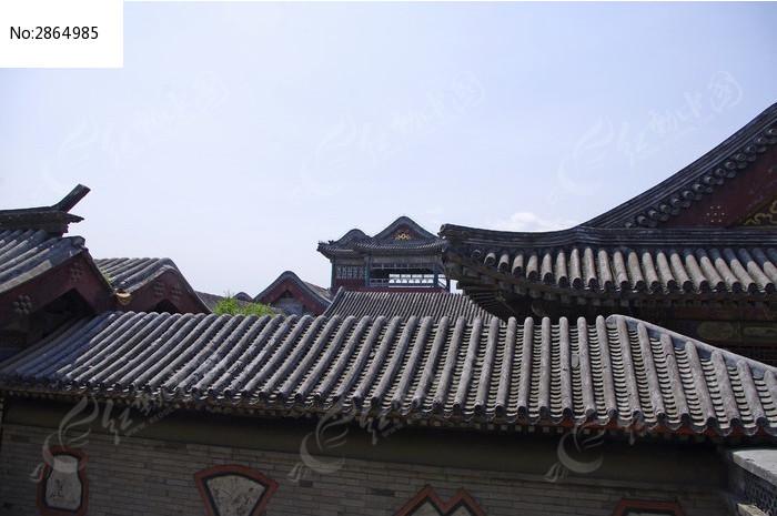颐和园古建筑群屋顶