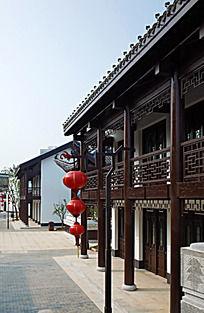 中国风建筑一条街